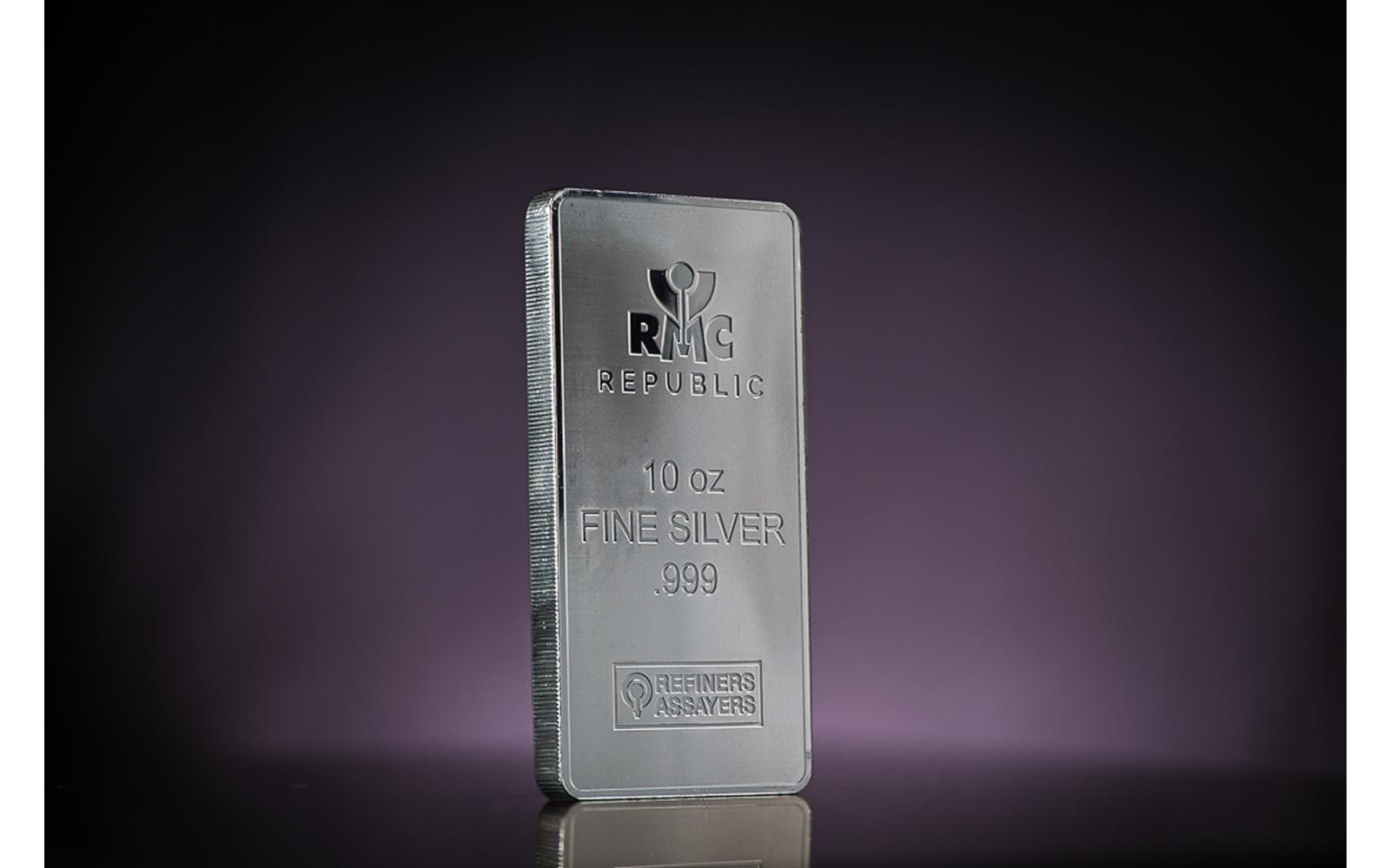10 Troy Ounce Silver Bar